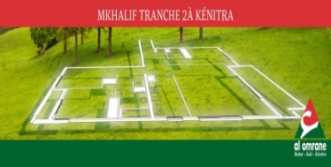 Lotissement Mkhalif Tranche 2 -Kénitra-